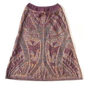 CECILIA PRADO Anthro Textured Skirt Size Small